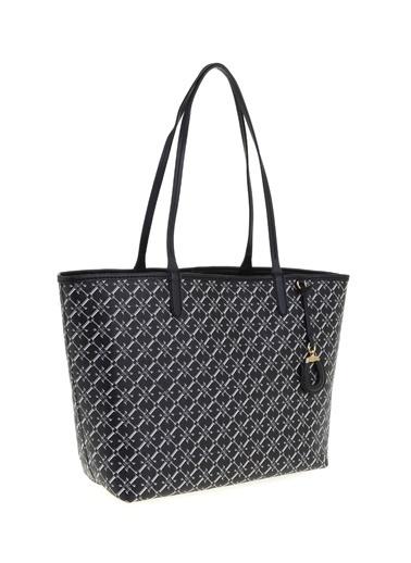 Ralph Lauren Lauren Ralph Lauren Siyah Shopper Çanta Siyah
